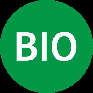 Adhésif BIO vert sur blanc