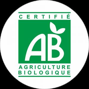 Adhésif A.B vert sur blanc