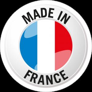 Adhésif Origine MADE IN FRANCE bleu/blanc/rouge sur blanc