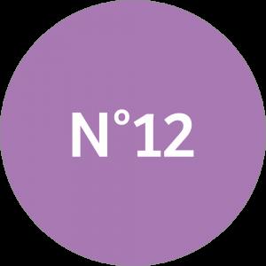 Adhésif NEUTRE Traçabilité Animale - Lilas N°12