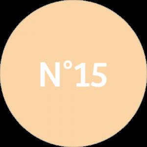 Adhésif NEUTRE Traçabilité Animale - Beige N°15