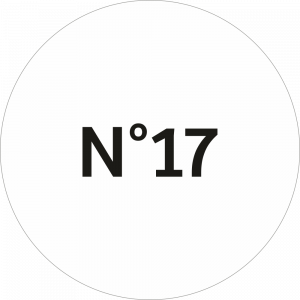 Adhésif NEUTRE Traçabilité Animale - Blanc N°17