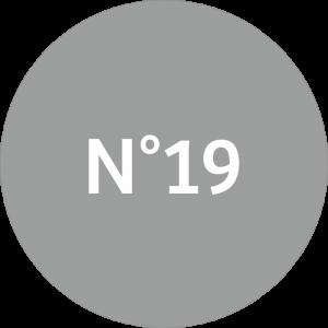 Adhésif NEUTRE Traçabilité Animale - Gris N°19