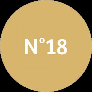 Adhésif NEUTRE Traçabilité Animale - Taupe N°18