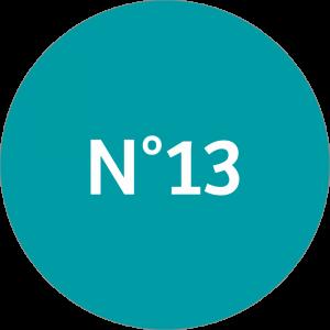 Adhésif NEUTRE Traçabilité Animale - Vert canard N°13