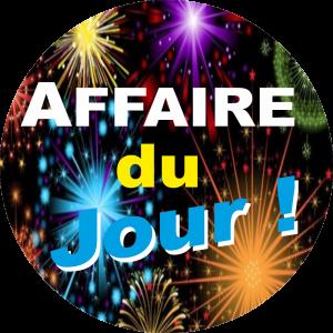 Adhésif AFFAIRE du Jour ! fond Feu Artifice