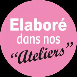 Adhésif Conseil Clientéle - Elaboré dans nos ateliers - fond rose