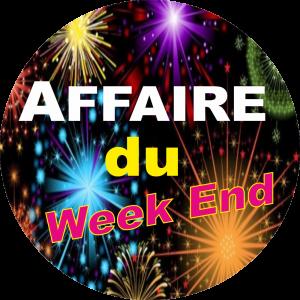 Adhésif AFFAIRE du Week End ! fond Feu Artifice