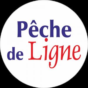 Adhésif Information Clientèle - Pêche de Ligne bleu/rouge fond blanc