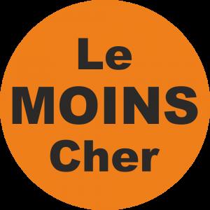 Adhésif Le MOINS Cher fond Orange
