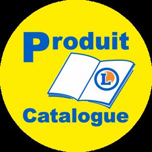 Adhésif logo grande distribution (G.M.S) - LECLERC Produit du Catalogue fond jaune