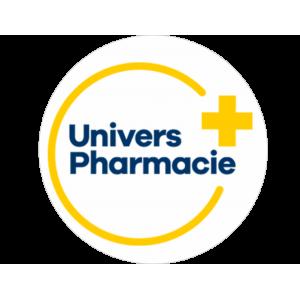Adhésif P.L.V & Display -  Univers Pharmacie bleu et jaune fond blanc