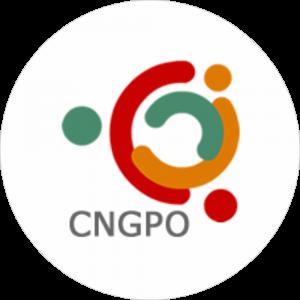 Adhésif P.L.V & Display -  CNGPO Pharmacies rouge, orange,vert fond blanc