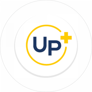 copy of Adhésif P.L.V & Display -  Univers Pharmacie bleu et jaune fond blanc