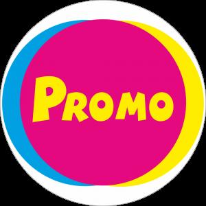 Adhésif Promo POP - Cyan Magenta Jaune