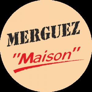 Adhésif Conseil Clientèle - Merguez Maison - fond beige