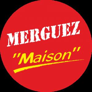 Adhésif Conseil Clientèle - Merguez Maison - fond rouge