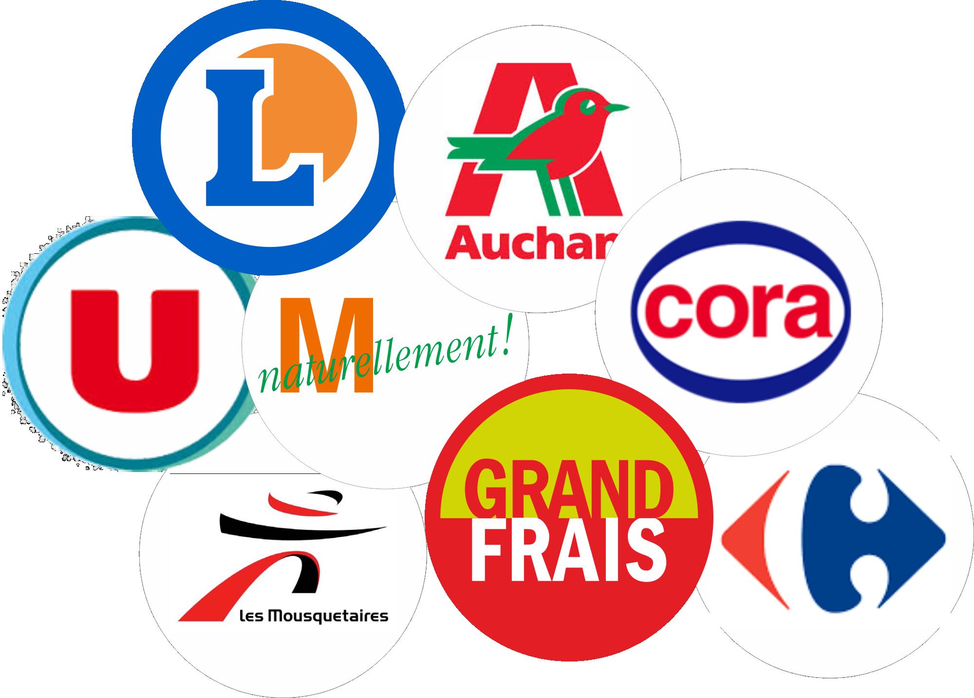 Logos Grande Distribution (G.M.S)
