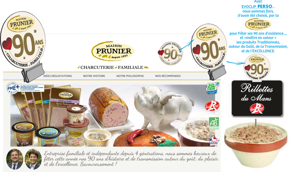Maison PRUNIER - 90 Ans
